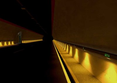 poliled-tunnel